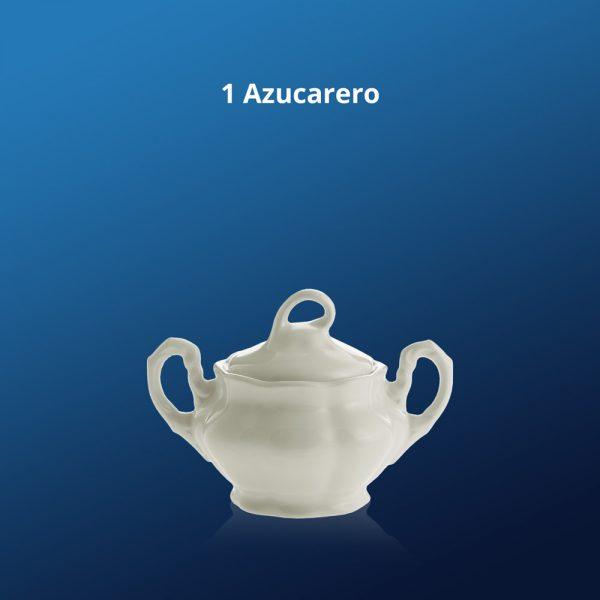 Juego de café Aurora Blanca